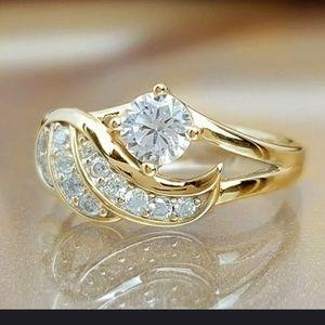 White Sapphire Fashion Ring